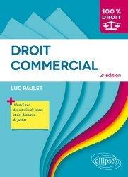 Dernières parutions dans 100% DROIT, Droit commercial. 2e édition