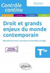 Dernières parutions dans Contrôle continu, Droit et grands enjeux du monde contemporain Tle. 3e édition