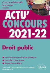 Dernières parutions sur Concours administratifs, Droit public