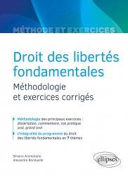 Dernières parutions sur Droits de l'homme, Droit des libertés fondamentales - Méthodologie et exercices corrigés