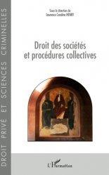 Dernières parutions dans Droit privé et sciences crimin, Droit des sociétés et procédures collectives