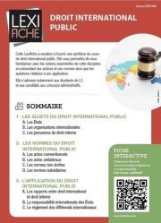 Dernières parutions sur Droit international public, Droit international public