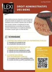 Dernières parutions sur Droit administratif général, Droit administratif des biens