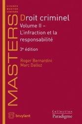 Dernières parutions sur Criminologie, Droit criminel Volume 2