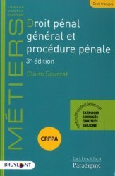 Dernières parutions sur Procédure pénale, Droit pénal général et procédure pénale. 3e édition