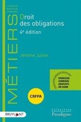 Dernières parutions sur Droit des obligations, Droit des obligations. 4e édition
