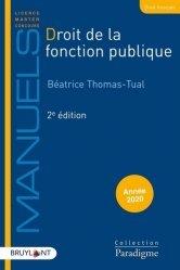 Dernières parutions dans Paradigme - Manuels, Droit de la fonction publique. 2e édition