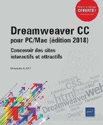 Dernières parutions dans Objectif Web, Dreamweaver CC pour PC-Mac  : concevoir des sites interactifs et attractifs