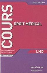 Dernières parutions dans Cours, Droit médical