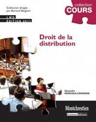 Dernières parutions dans Cours, Droit de la distribution