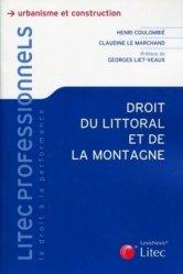 Dernières parutions sur Littoraux, Droit du littoral et de la montagne