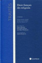 Dernières parutions dans Traités, Droit français des religions. 2e édition