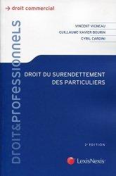 Dernières parutions sur Recouvrement des créances, Droit du surendettement des particuliers. 2e édition