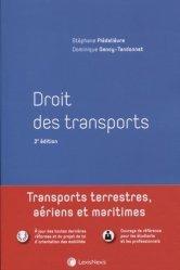 Dernières parutions dans Manuel, Droit des transports. Transports terrestres, aériens et maritimes, 2e édition