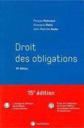 Dernières parutions dans Manuel, Droit des obligations. 15e édition