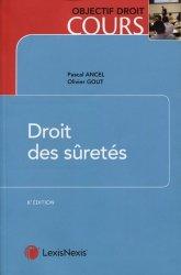 Dernières parutions sur Droit des sûretés, Droit des sûretés. 8e édition