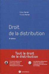 Dernières parutions sur Concurrence et consommation, Droit de la distribution