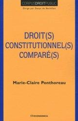 Dernières parutions dans Corpus droit public, Droit(s) constitutionnel(s) comparé(s)