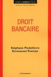 Dernières parutions dans Corpus Droit Privé, Droit bancaire