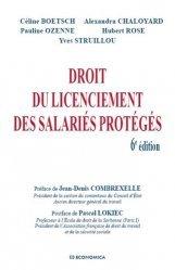 Dernières parutions sur Droit du travail et de l'emploi, Droit du licenciement des salariés protégés