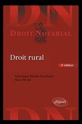 Dernières parutions dans Droit notarial, Droit rural
