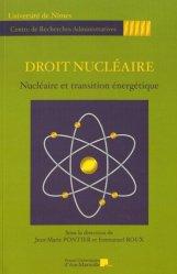 Dernières parutions dans Centre de Recherches Administratives, Droit nucléaire