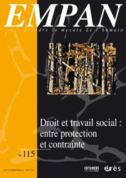 Dernières parutions dans empan, Droit et travail social : entre protection et contrainte