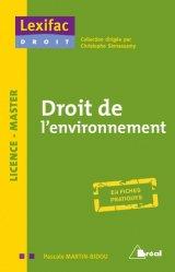 Dernières parutions sur Europe et environnement, Droit de l'environnement