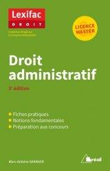 Dernières parutions sur Droit administratif général, Droit administratif. 3e édition