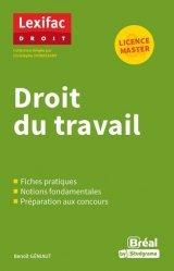 Nouvelle édition Droit du travail