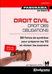 Dernières parutions dans Panorama du droit, Droit civil, droit des obligations