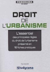 Souvent acheté avec Mener une opération d'aménagement, le Droit de l'urbanisme