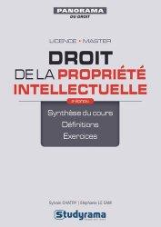 Dernières parutions dans Panorama du droit, Droit de la propriété intellectuelle. 2e édition