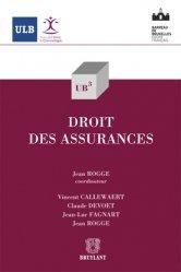 Dernières parutions dans UB3, Droit des assurances