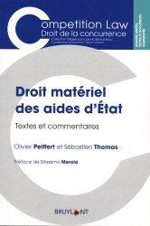 Dernières parutions dans Competition Law, Droit matériel des aides d'Etat. Textes et commentaires