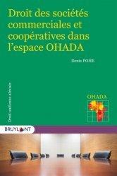 Dernières parutions sur Commerce international, Droits des sociétés commerciales et coopératives dans l'espace OHADA