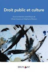 Dernières parutions sur Autres ouvrages de droit public, Droit public et culture