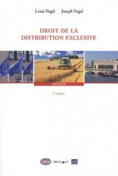 Dernières parutions sur Concurrence et consommation, Droit de la distribution exclusive