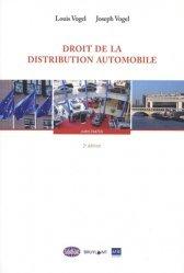 Dernières parutions sur Concurrence et consommation, Droit de la distribution automobile