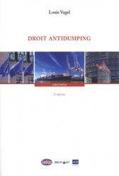Dernières parutions sur Concurrence et consommation, Droit antidumping