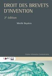 Dernières parutions sur Propriété industrielle, Droit des brevets d'invention et protection du savoir-faire. 2e édition