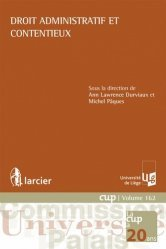 Dernières parutions dans Commission Université-Palais, Droit administratif et contentieux