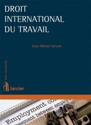 Dernières parutions dans Droit international, Droit international du travail
