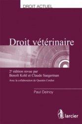 Dernières parutions sur Gestion - Législation, Droit vétérinaire