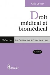 Dernières parutions sur Responsabilité médicale, Droit médical et biomédical