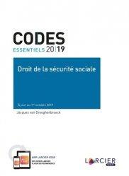 Dernières parutions sur Sécurité sociale, Droit de la sécurité sociale. Edition 2019