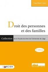 Dernières parutions sur Droit des personnes, Droit des personnes et des familles