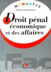 Dernières parutions dans Mémentos, Droit pénal économique et des affaires