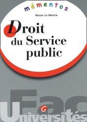 Dernières parutions dans Mémentos, Droit du service public