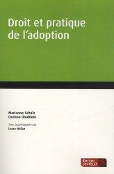 Dernières parutions sur Filiation et adoption, Droit et pratique de l'adoption